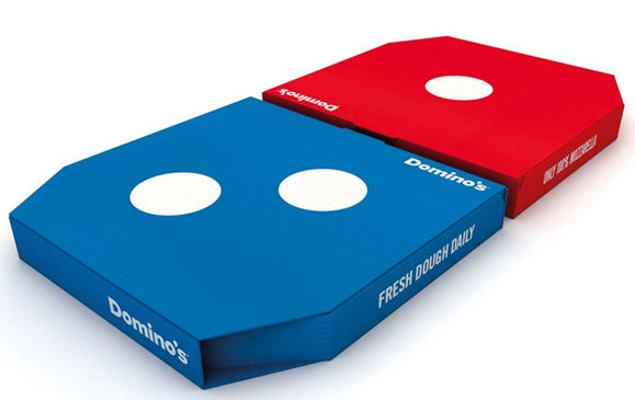 Domino´s Pizza launched neues Packungsdesign
